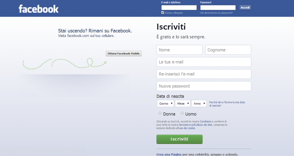 screen Fb